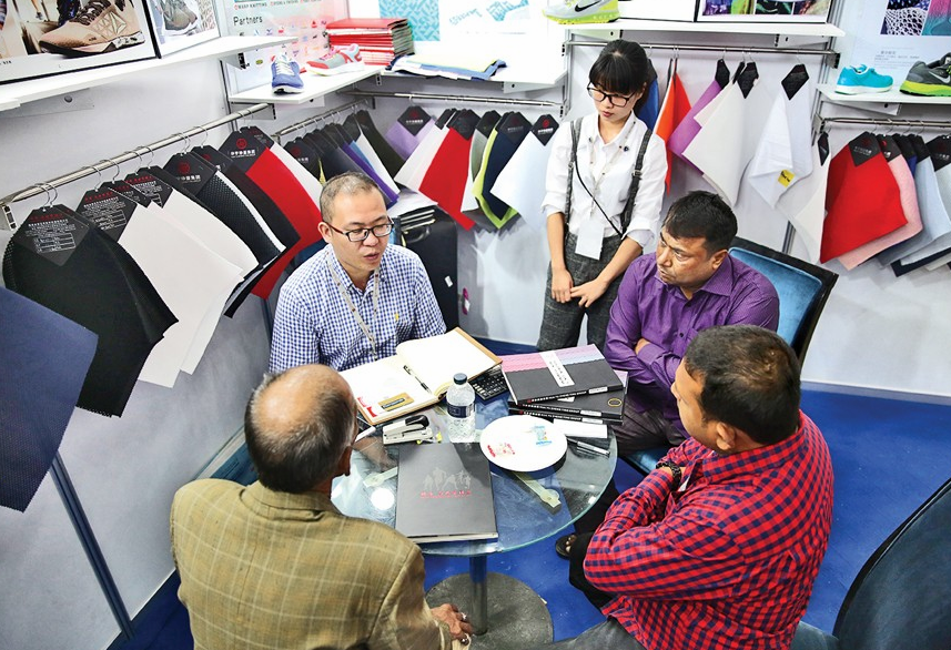 Leather and Footwear Fair in Bangladesh 2017 Chinese Stall